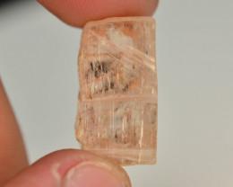 Rare ~ 24.55 ct Natural katlang Pink Color Topaz crystal