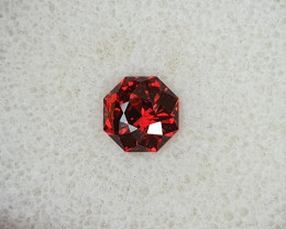 1,84ct Blood red Umbalite garnet - Master cut!