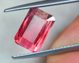 2.63Ct Pink Tourmaline Octagon Cut Lot B1041