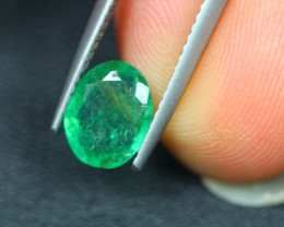 1.33Ct Natural Zambia Green Emerald Lot V5142
