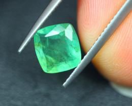 1.84Ct Natural Zambia Green Emerald Lot V5145