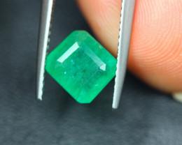 2.05Ct Natural Zambia Green Emerald Lot V5155