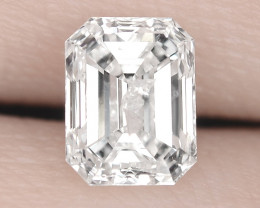 0.71 Cts UNTREATED WHITE D COLOR NATURAL LOOSE DIAMOND