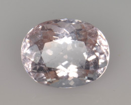 3.41 Cts Morganite Awesome Color and Luster Gemstone MG25