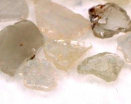 1.15Ct Natural Fancy Grey Slices Color Diamond Lot BM282