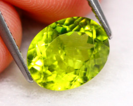 Peridot 3.30Ct Natural Green Color Peridot B3103