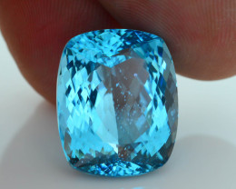 Neon Blue Apatite 15.89 ct Paraiba Like Color Madagascar SKU.7