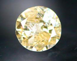 Diamond 0.29Ct Natural Brilliant Round Cut Fancy Color Diamond 28CF15