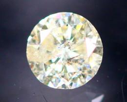 Diamond 0.23Ct Natural Brilliant Round Cut Fancy Color Diamond 28CF16