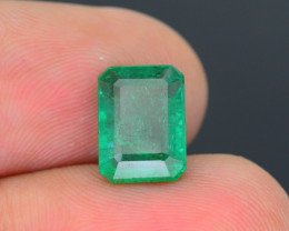 Top Grade 3.24 ct Zambian Emerald SKU-31