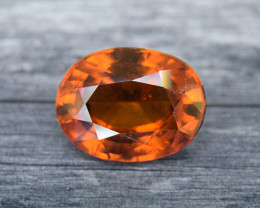 Hessonite Garnet 4.00ct Oval (00878)