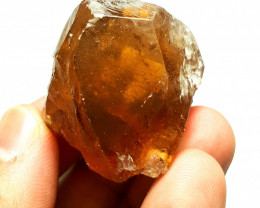 Amazing Double Termination Damage free Faceted grade Topaz crystal 315Cts-P