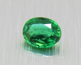Natural Vivid Green Tsavorite Garnet 0.39ct (01433)
