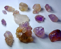 263 ct Unheated & Natural Afghan Purple color Amethyst Crystal Rough Lot