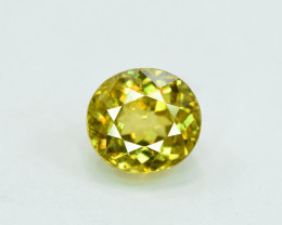 1.70 carats AAA Mossy Color Full Fire Natural Chrome Sphene Loose Gemstone