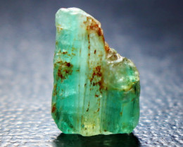 7 CT Natural - Unheated   Green  Emerald Crystal Rough