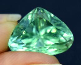 NR  5.55 cts Lush Green Spodumene Gemstone