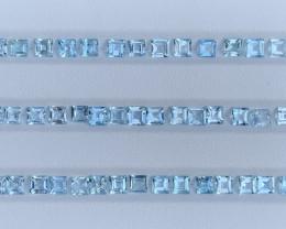 14.47 Carats Aquamarine Gemstones parcel