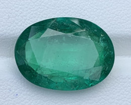 GFCO Certified 11.25 Natural color Emerald gemstone