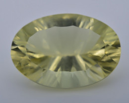 11.65 Crt Lemon Quartz Faceted Gemstone (R54)