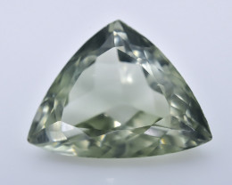 7.42 Crt  Prasiolite Green Amethyst Faceted Gemstone (R54)