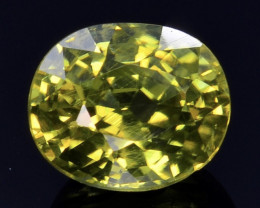 1.59 Ct Natural Zircon Awesome Color and Luster Gemstone ZR6