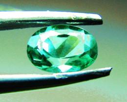 $157 High - End 1.04 ct Zambian Emerald Certified!