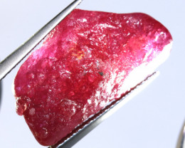 18 -CTS RICH RED RUBY ROUGH RG-4723
