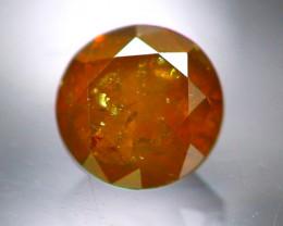 Diamond 0.36Ct Natural Brown Color Fancy Diamond 29CF29