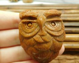 New design carve owl pendant jewelry (G1792)