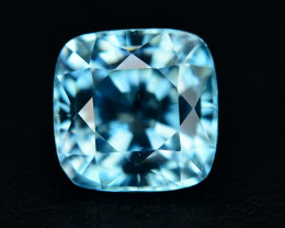 4.20 Ct Amazing Color Natural Blue Zircon