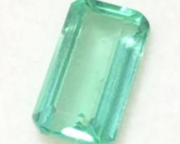 Pretty Mint Green 2.35ct Emerald Cut Apatite - H708
