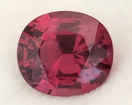 Pretty Red Oval Rhodolite Garnet - Vietnam H709