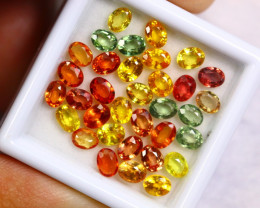 8.40cts Natural Fancy Colour Sapphire Lots /BIN302