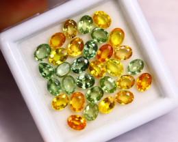 7.40cts Natural Fancy Colour Sapphire Lots /BIN304