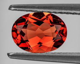 7x5 mm Oval 0.75ct Red-Orange Andesine [VVS]