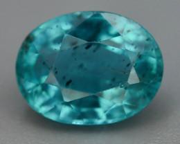 Great Luster 2.00 ct Rarest Neon Blue Color Apatite T