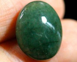 12.9Ct Natural Grade A Jadeite Jade Cabochon (No Treatment)