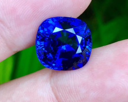 **Collectors** Internally Flawless 12.35ct Lab Certified Tanzanite