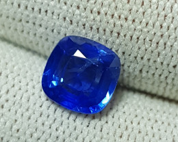 CERTIFIED 2.34 CTS NATURAL STUNNING CORNFLOWER BLUE SAPPHIRE SRI LANKA