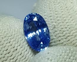 NO HEAT CERTIFIED 2.04 CTS NATURAL STUNNING CORNFLOWER BLUE SAPPHIRE SRI LA