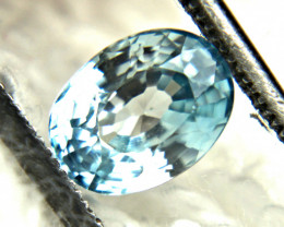 2.26 Carat VVS Southeast Asian Blue Zircon - Gorgeous