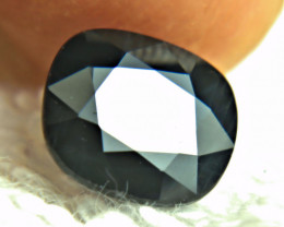 4.65 Carat Heat Only Midnight Blue Sapphire - Gorgeous