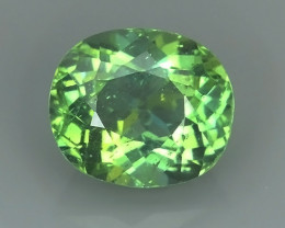 3.40 CTS MAGNIFICENT NATURAL RARE TOP QUALITY GREEN APATITE