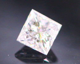 Diamond 0.16Ct Natural Princess Cut Fancy Color Diamond 30CF19