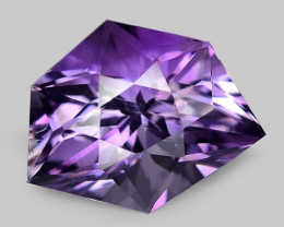 4.30 CT NATURAL AMETHYST TOP FANCY CUT GEMSTONE AM24