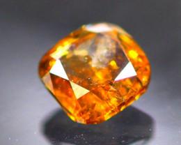 Diamond 0.41Ct Natural Orange Color Fancy Diamond 30CF40
