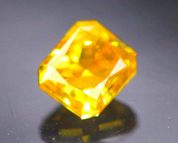 Diamond 0.14Ct Natural Orange Color Fancy Diamond 30CF43