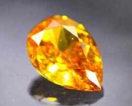 Diamond 0.15Ct Natural Orange Color Fancy Diamond 30CF48