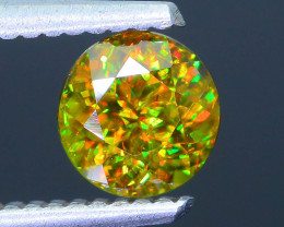 Rare AAA Fire 1.14 ct Chrome Sphene Sku-41